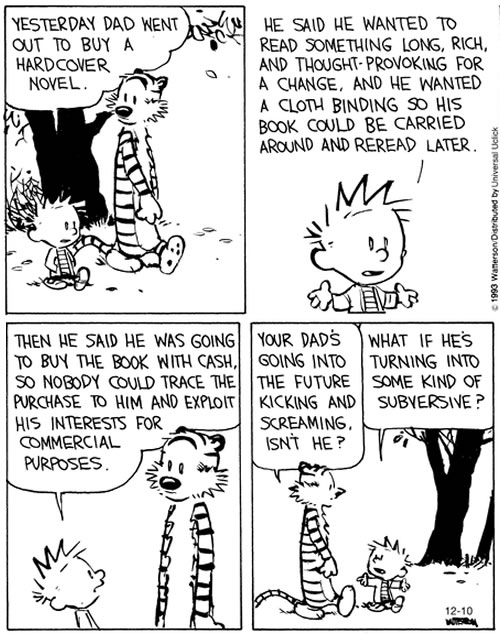 calvin and hobbes 1993-12-10