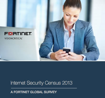 fortinet internet security census 2013