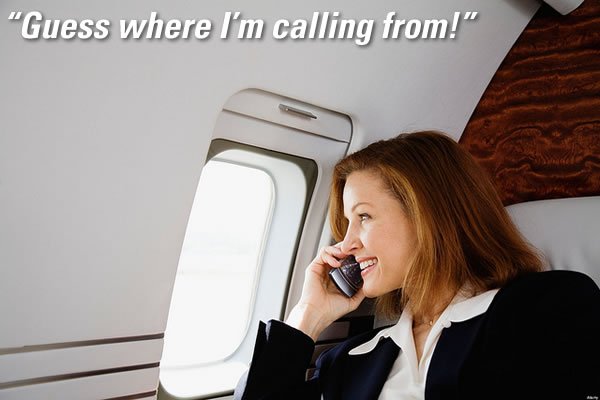guess where im calling from