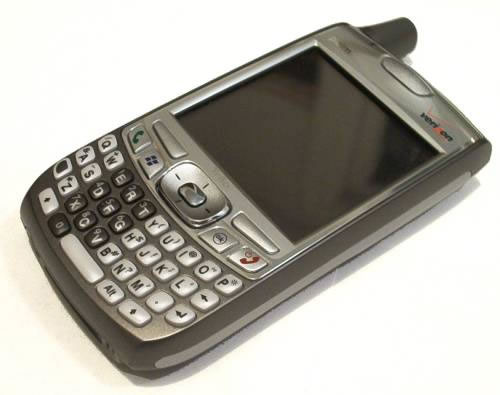 Palm Treo 700w phone