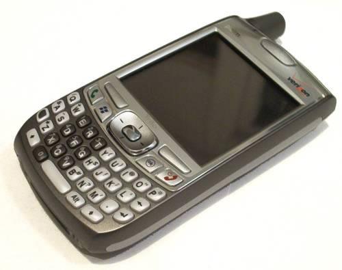Palm Treo 700w phone