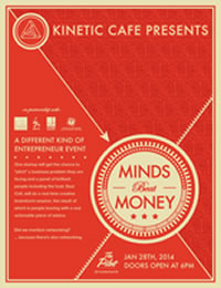 minds beat money poster