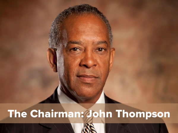 chairman john thompson