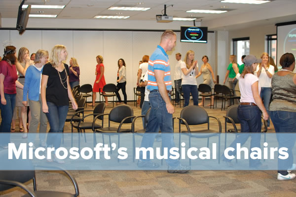 microsoft musical chairs