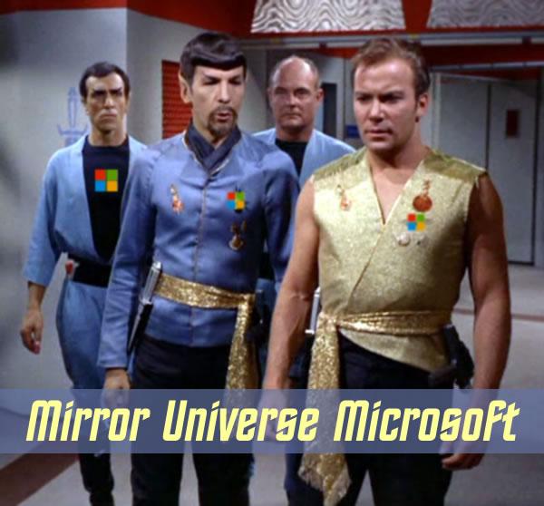 mirror universe microsoft