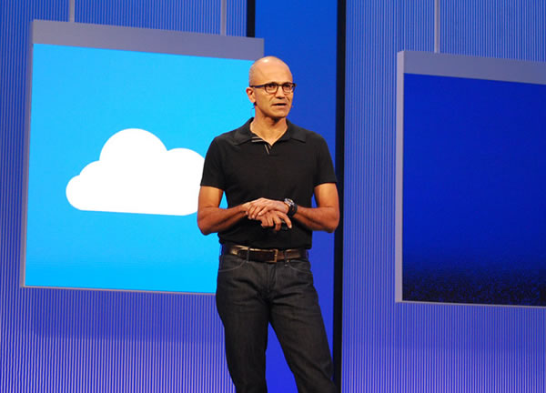 nadella cloud