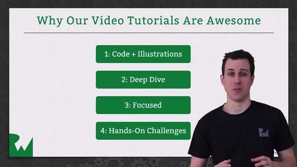 ray wenderlich tutorial videos