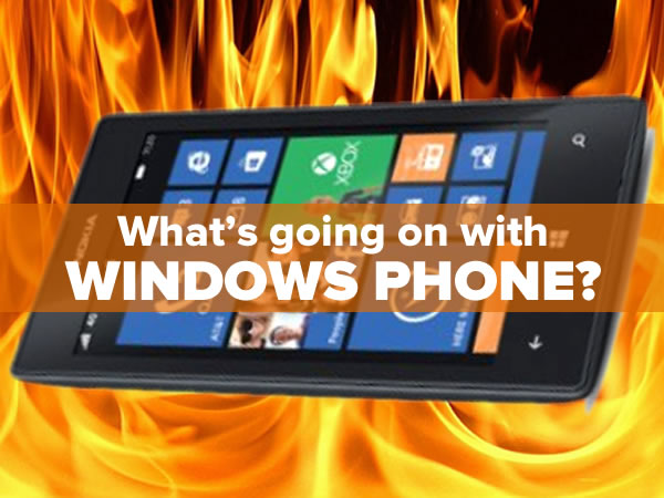 what's going on with windows phone