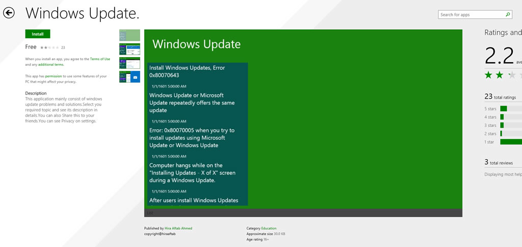 fake windows update