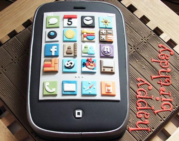 happy birthday cellular phone