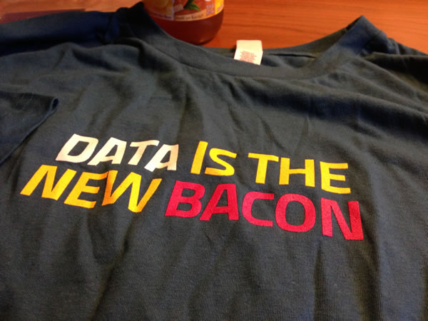 data is the new bacon
