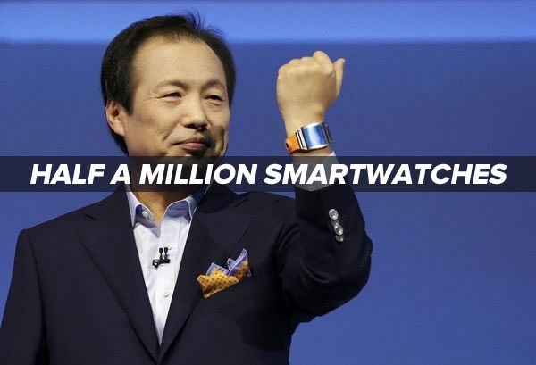 half a million smartwatches