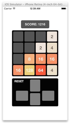 swift - 2048