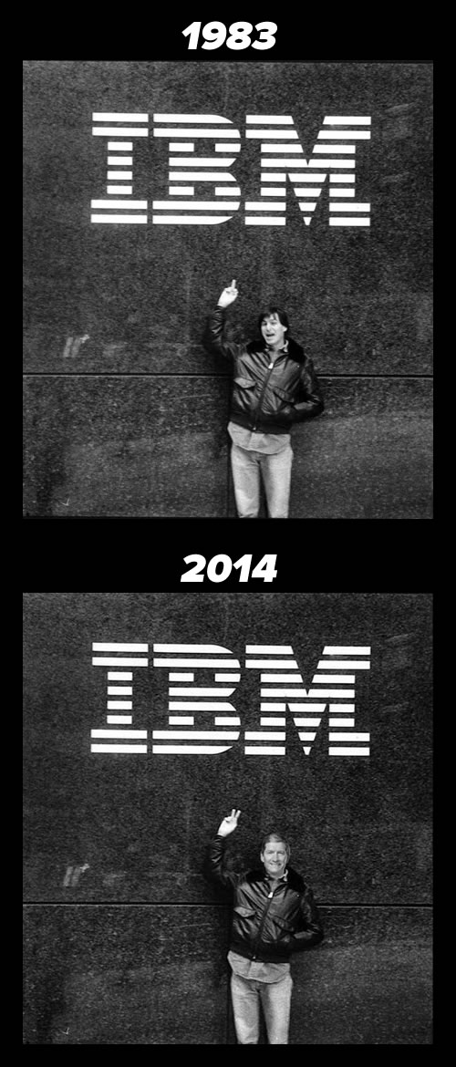 apple and ibm - 1983 and 2014