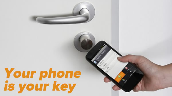 your phone is your key