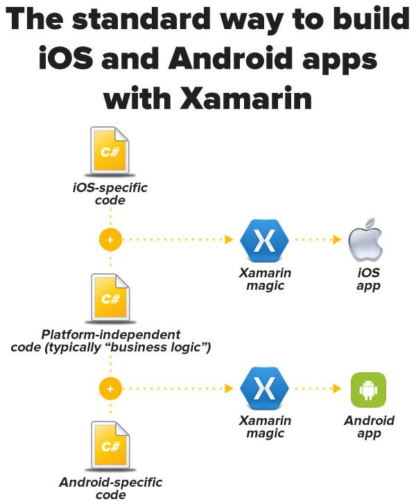 standard xamarin apps
