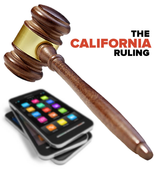 the california ruling