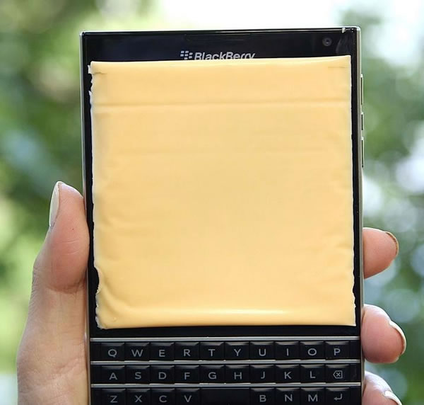 blackberry passport american cheese