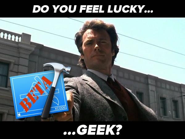 do you feel lucky geek