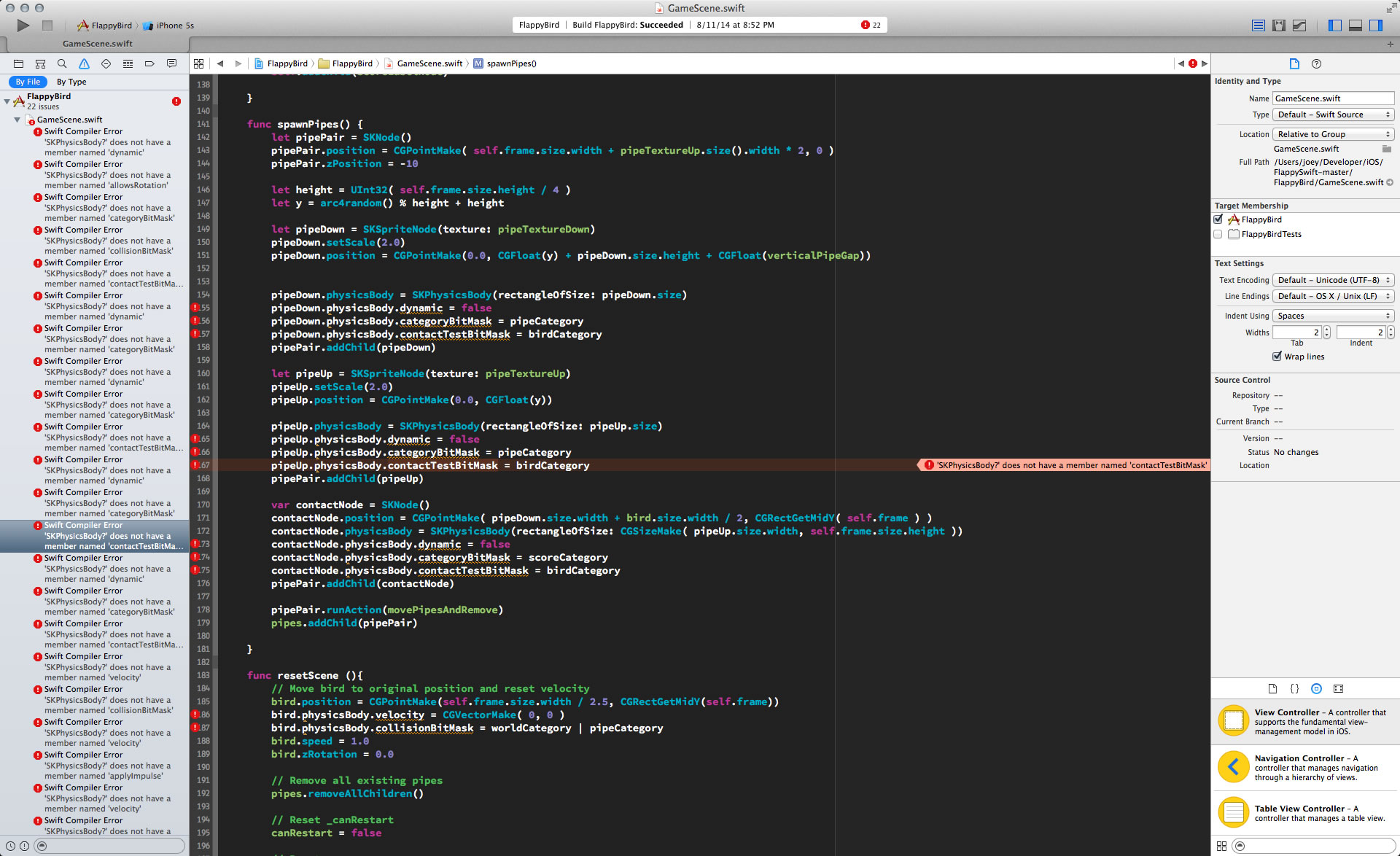 Why your Swift apps broke in Xcode 6 beta 7 and the GM versions, and
