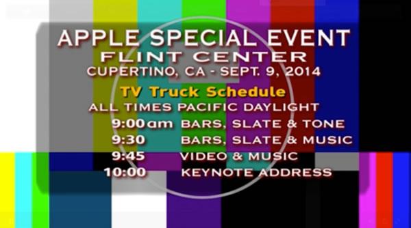 tv truck schedule