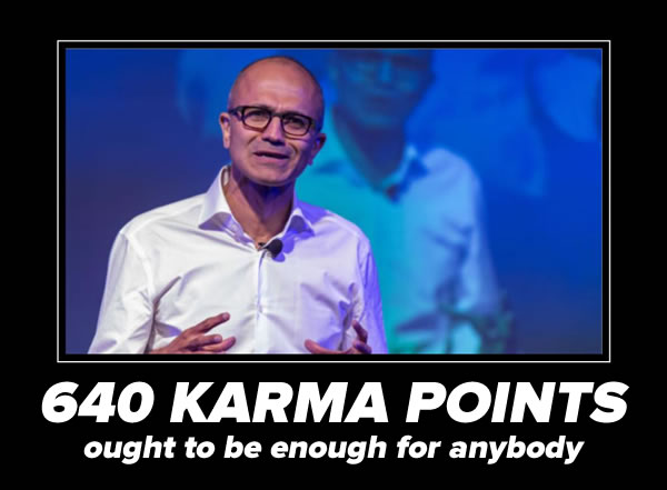 640 karma points