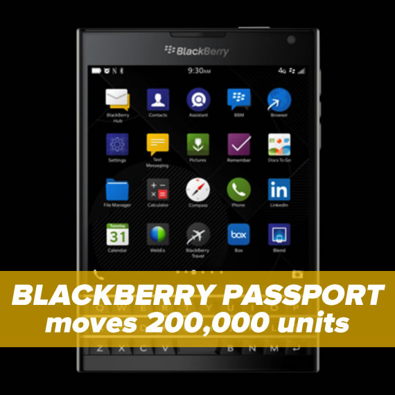 blackberry passport 200000