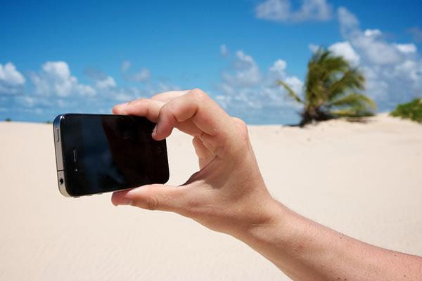 smartphone vacation