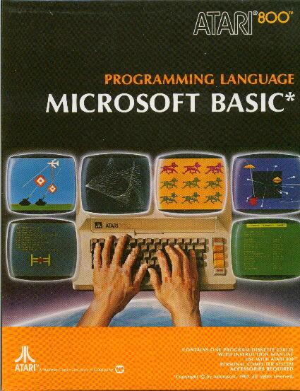 atari microsoft basic book