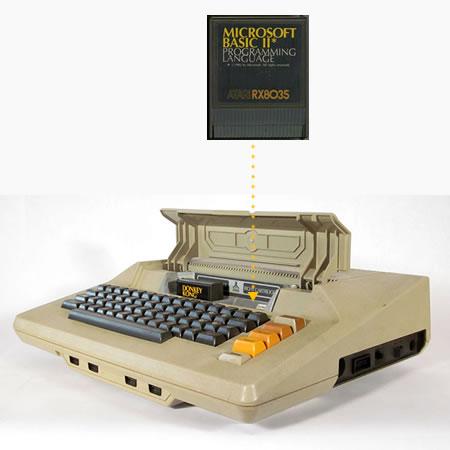 atari microsoft basic