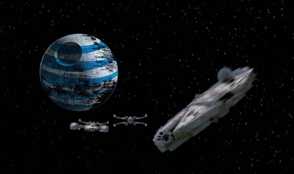 escape from the death star
