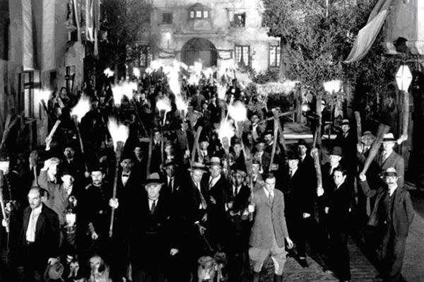 pitchforks and torches