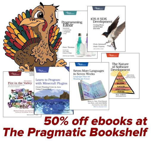 pragmatic bookshelf sale