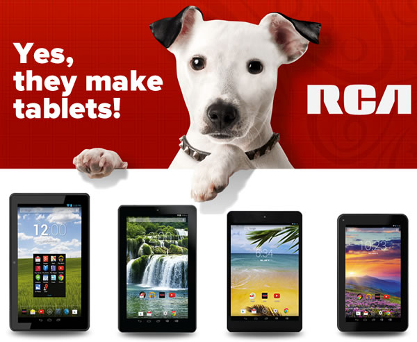 rca makes tablets