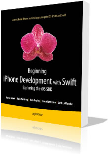 The book 'Beginning iPhone Development with Swift'