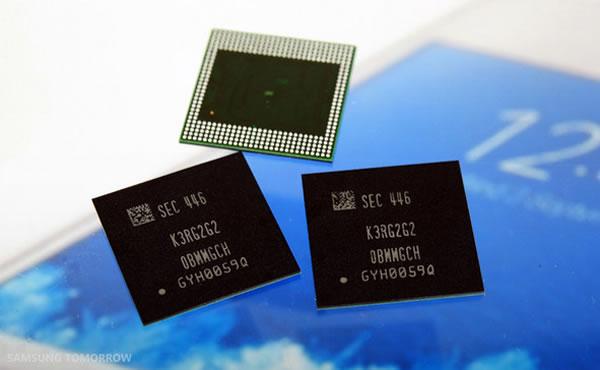 samsung 8 gigabit ram chips