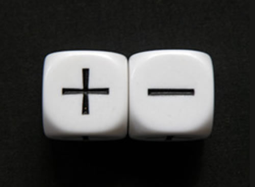 plus minus dice