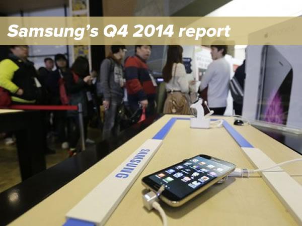 samsung q4 2014 report