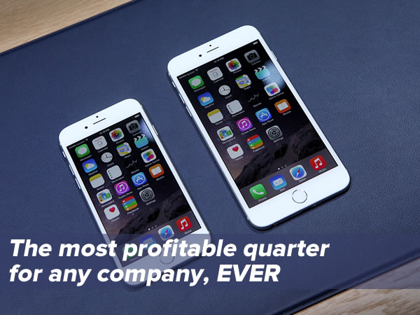 the most profitable quarter ever