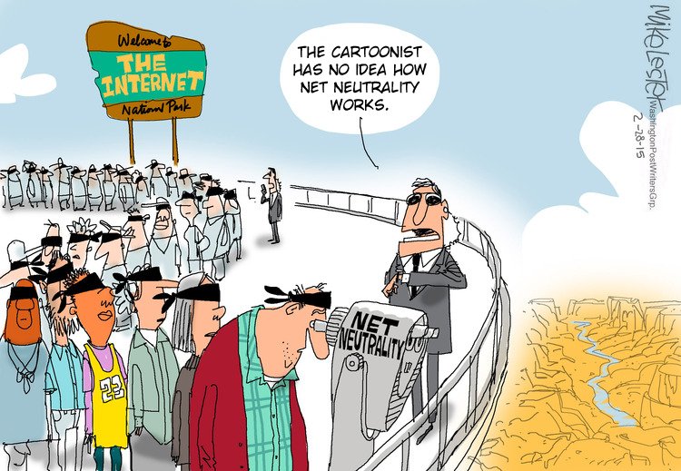 fixed net neutrality cartoon 3