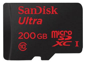 sandisk 200gb microsd card