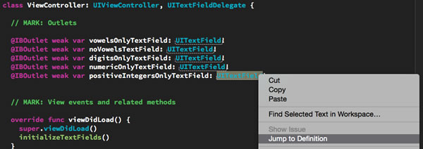 getting to uitextfielddelegate