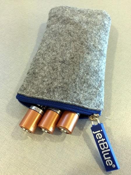 jetblue earbuds case 2015 batteries
