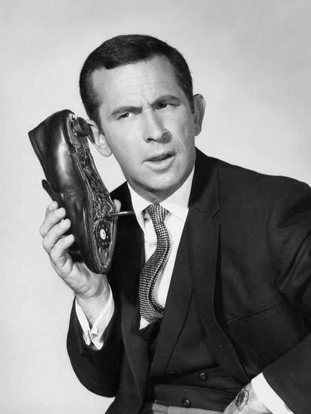 maxwell sound and his shoe phone