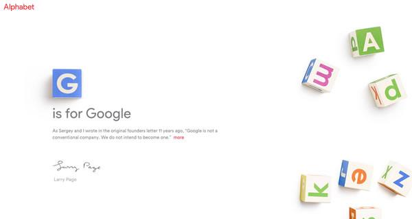 alphabet web site