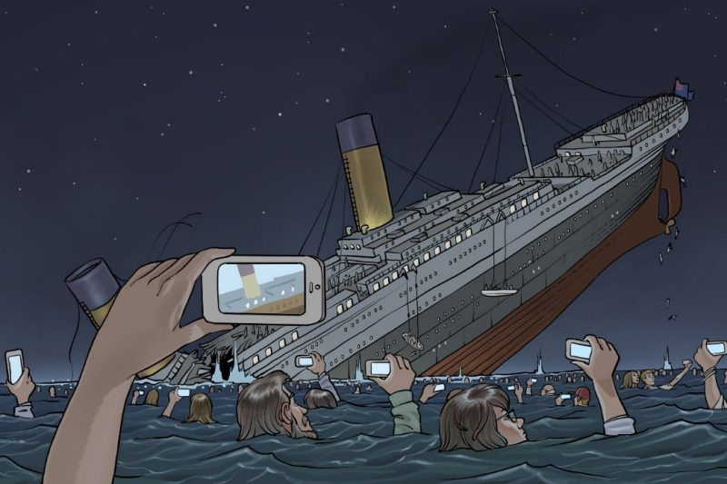 if the titanic sank today