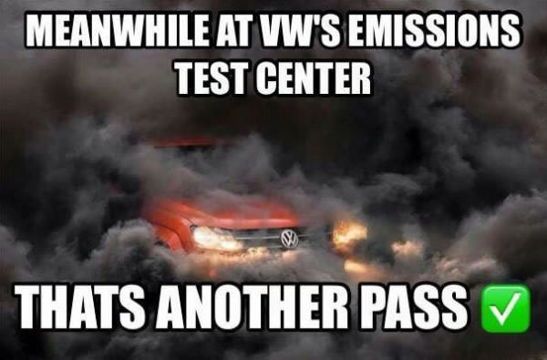 meanwhile at vw's emissions test center