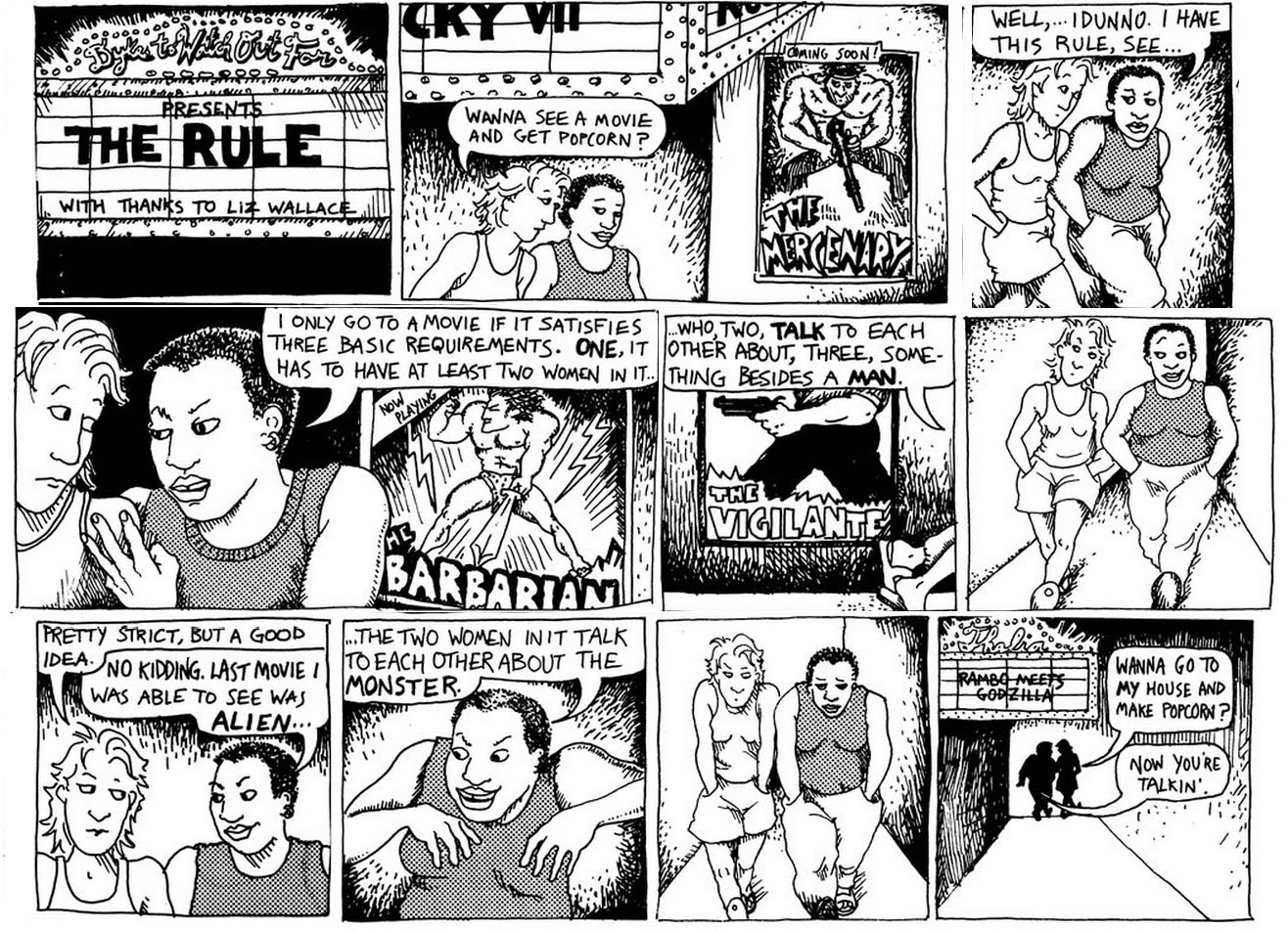 bechdel test full comic