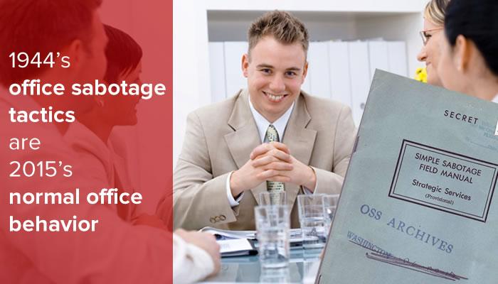 office sabotage