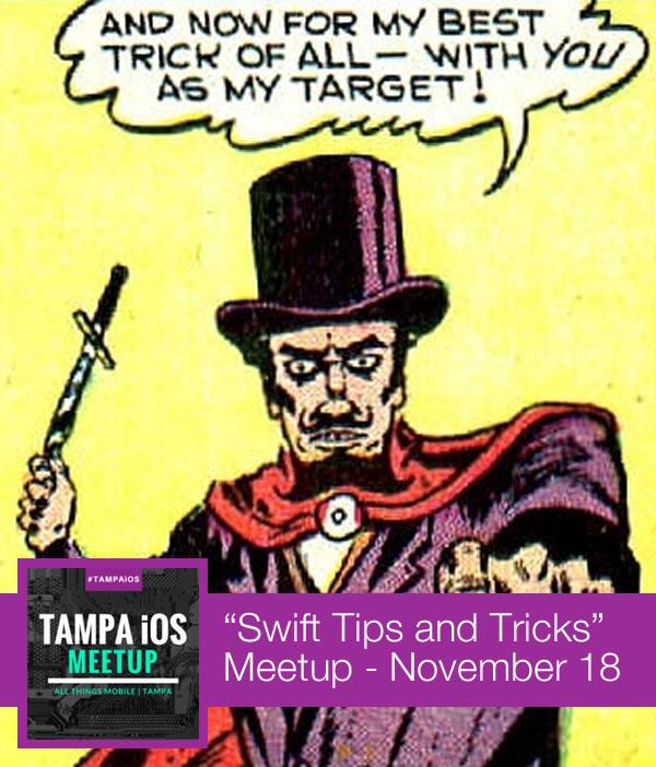 swift tips and tricks meetup